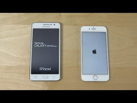 Samsung Galaxy Grand Prime vs. iPhone 6 - Which is Faster?