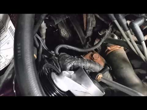 How to Replace Chrysler V6 Serpentine Belt Kit 3.3 L, Grand Voyager