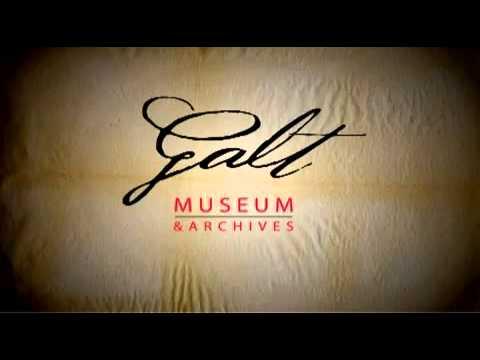 Galt Museum - Podcast Logo Animation