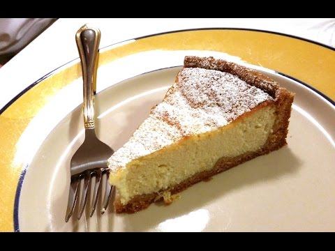 Ricotta Tart By Chef Gianfranco Minuz and Lorenzo