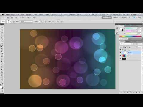 Cool Bubbles Wallpaper Photoshop Tutorial