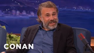 Christoph Waltz On The Difference Between Germans & Austrians | CONAN on TBS