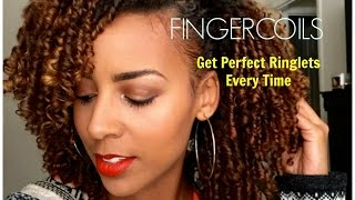 Pleasant Natural Hair How To Perfect Finger Coil Out Short Hairstyles For Black Women Fulllsitofus