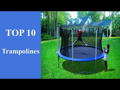Top 10 Best Trampoline Review