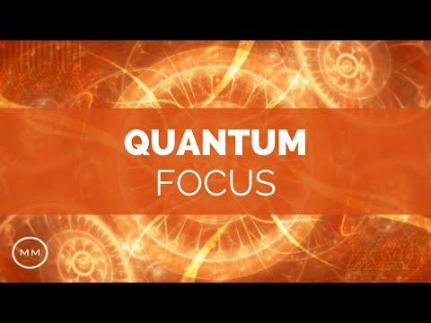 Quantum Focus - Super Mental Focus - Study / Work Focus Improvement - Focus Music- Binaural Beats