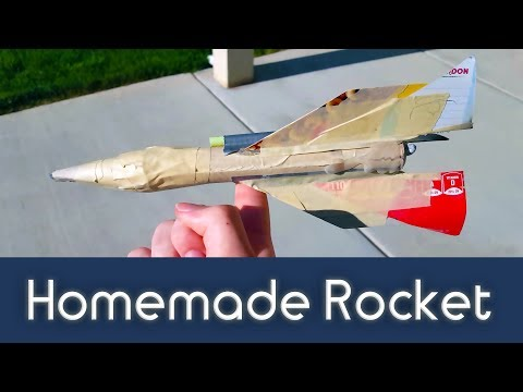 How to Build a Simple Rocket Body from Household Items