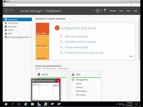 How to Add UPN on Microsoft Windows 2016 Active directory