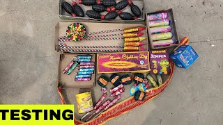 Different types Of Crackers | Diwali Stash 2019 | Some New Crackers Brushing 2019 | Best Cracker's |