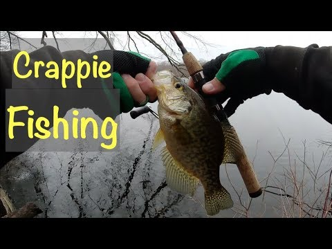 It Was A CRAPPIE Sunset! - Early Spring Fishing - Long Island NY
