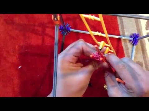 K'nex Micro Roller Coasters | How to Make a Spine