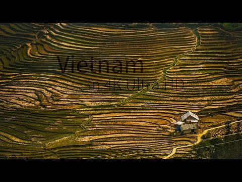Amazing Vietnam with SAPA, Halong Bay & more! in 4K Ultra HD