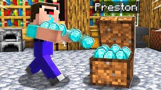 7 Ways to Steal Noob1234's Diamonds! - Minecraft