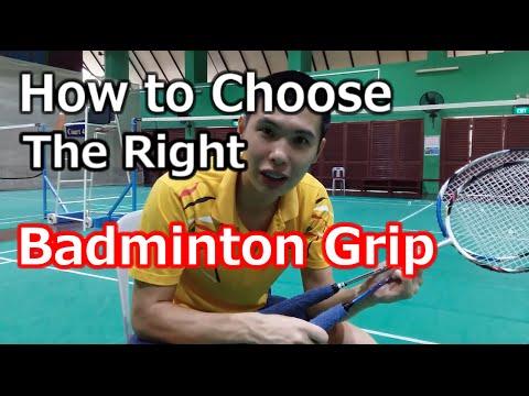 Beginners Guide to Choosing Badminton Racket Grips | BG Academy