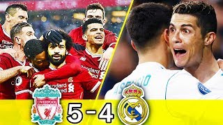 Real Madrid Vs Liverpool All Goals Highlights Last 4 Matches