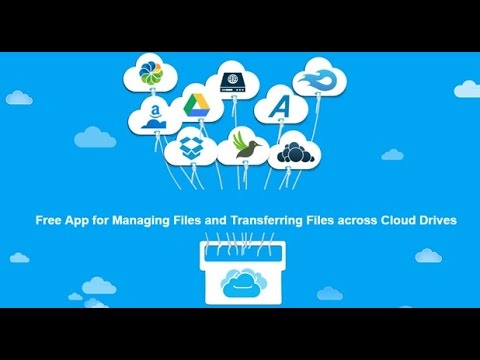 OneDrive to Google Drive- Move Files from Any Cloud Storage to Another One