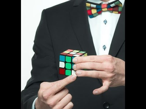 How to solve a Rubik's cube for BEGINNERS step one: cross, Erik Akkersdijk