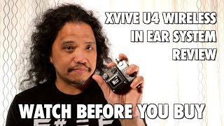 Watch before you buy! | XVIVE U4 Wireless In Ear System Real World Review