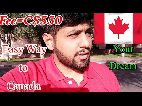 Canada visa from dubai? Woh b 550 doller fee main