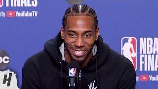 Kawhi Leonard Postgame Interview - Game 5 | Warriors vs Raptors | 2019 NBA Finals