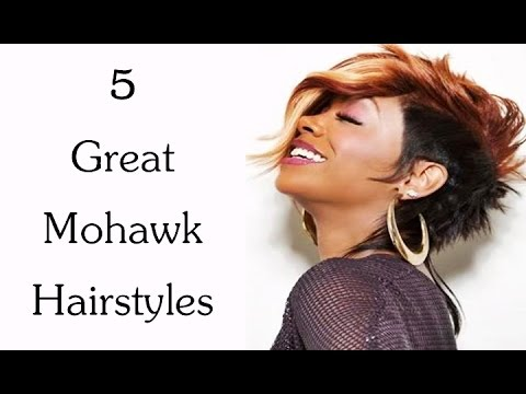 5 Great Mohawk Hairstyles for African American Women