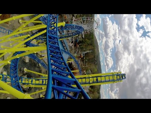 Impulse front seat on-ride HD POV @60fps Knoebels Amusement Resort