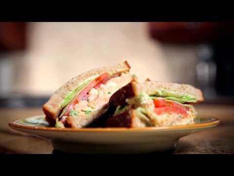 Honey Smoked Salmon Salad Sandwich