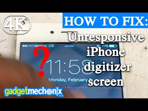 How to fix an iPhone screen with digitzer issues (Gadget Mechanix) repair tips video