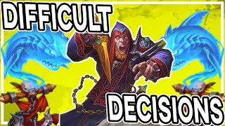 Difficult Decisions With C'Thun Rogue