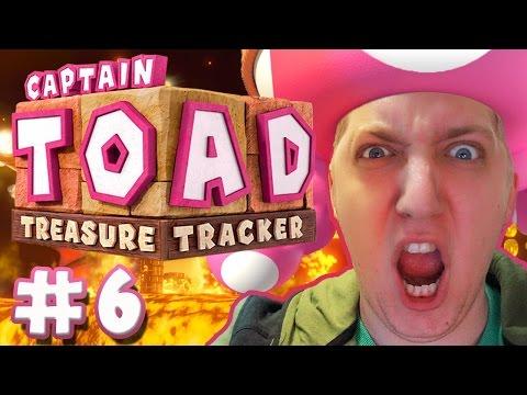 Captain Toad: Treasure Tracker - EPIC DRAGON RIDE!!! (Part 6)