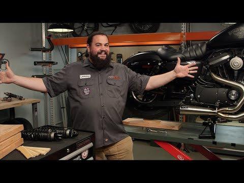 How To Change Rear Shocks on Your Motorcycle at RevZilla.com