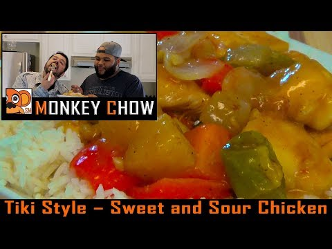 Sweet and Sour Chicken! Tiki Style! Monkey Chow EP. 3