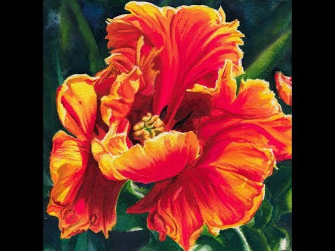 Parrot Tulip Speed Painting