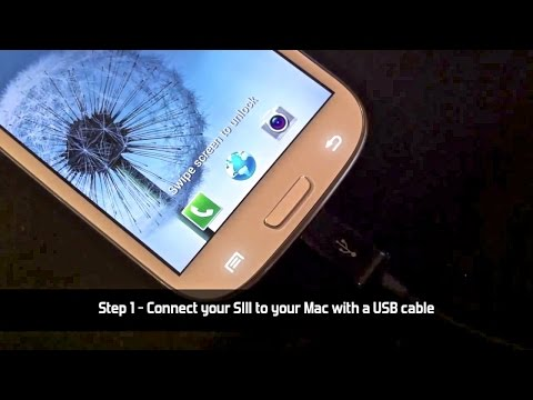 How to connect Samsung Galaxy S3 / S4 to a Mac and iPhoto
