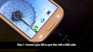 How To Connect Samsung Galaxy S3 S4 To A Mac And Iphoto