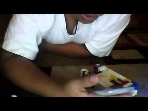 How to make a LEGO ipod case:part 3