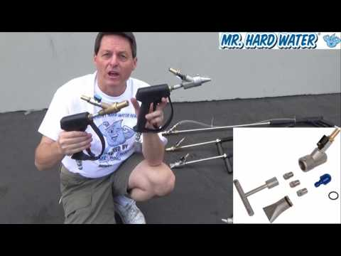 Mr Hard Water - Choosing a Blast Gun and Induction Media Blast Head