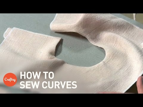 How to Sew a Curved Neckline | Sewing Tutorial with Gail Yellen