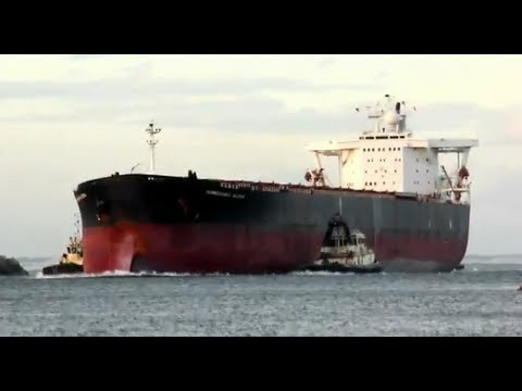 Newcastle Coal Ship - Formosabulk Allstar Monrovia (Bulk Coal Carrier)
