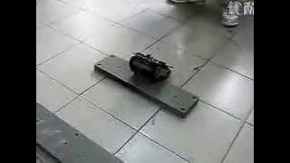 dagu rover 5 tracked chassis 4WD robot chassis with 4 encoders