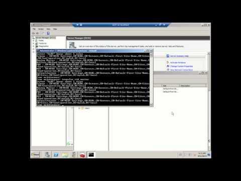 NTDSUtil manually transfer FSMO roles