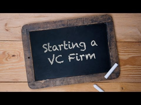 Ask Jay - Starting a VC Firm