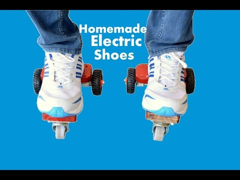 How to Make Electric Roller Skate Shoes at Home - Vary Cool Alternative of Roller Skates