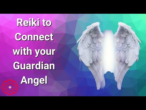 Reiki to Connect With Your Guardian Angel