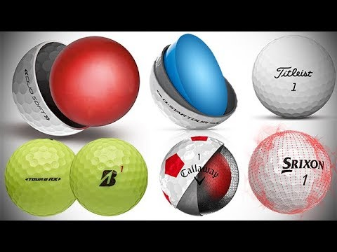 Best New GOLF BALLS for 2018 Golf Season