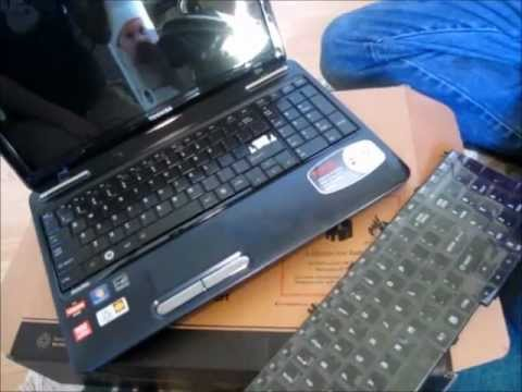 Toshiba Keyboard Replacement - Satellite Laptop