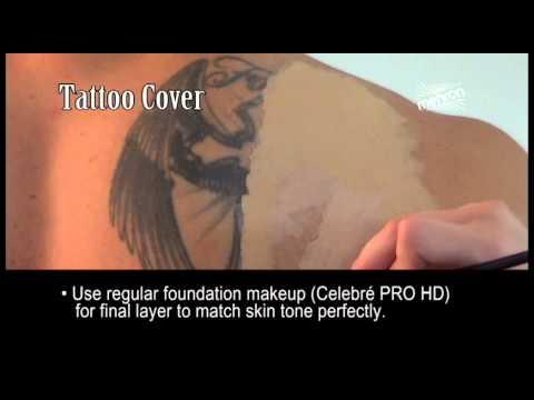 Mehron Tattoo Cover