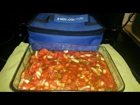 Hot Salsa Made in Hot Logic Mini Slow Cooker Appliance
