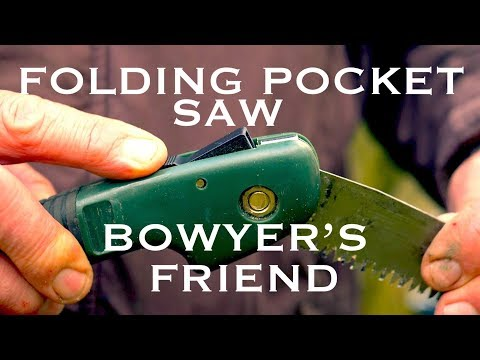 Wolverine Folding Pocket Saw. A Bowyer's Friend. Ideal for cutting Bow staves, camp fire wood etc