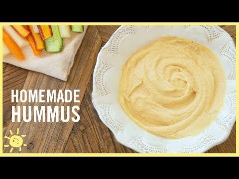 EAT | Homemade Hummus