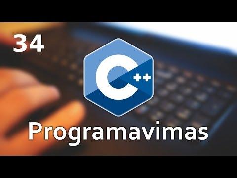 Programavimas C++ 11 #34 - Min/max paieška vienmačiame masyve